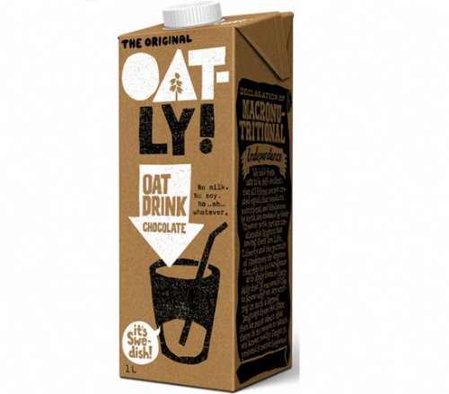 Oatly Chocolate Oat Drink Vitamins & Calcium 1l